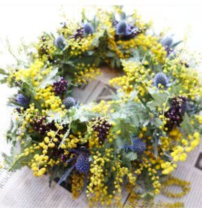 mimoza_wreath